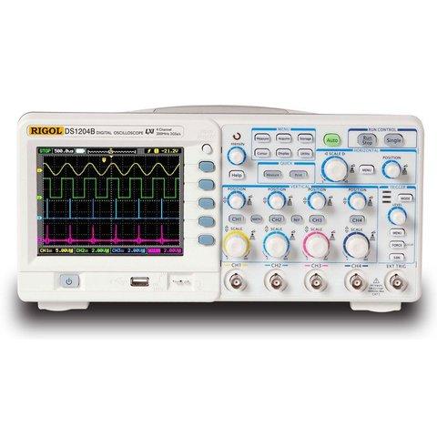 Цифровий 4-канальний осцилограф RIGOL DS1204B