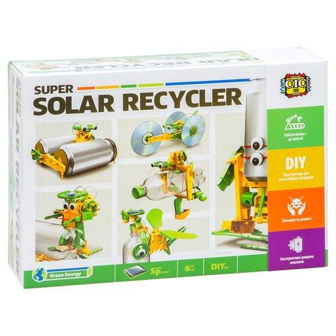 Робот 6 в 1 на солнечных батареях, STEM-конструктор CIC 21-616 Превью 8