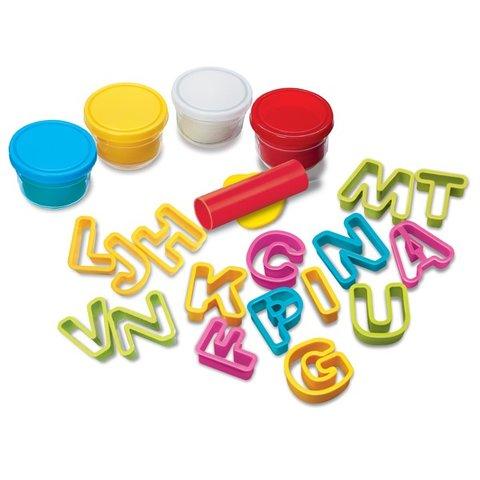 Набор для лепки из теста 4M Алфавит 00-04714 Превью 1