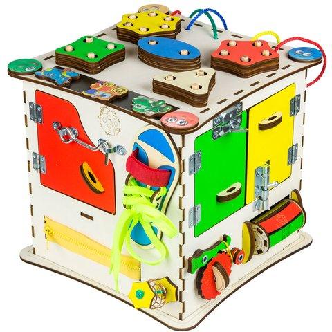 Бизиборд GoodPlay Развивающий кубик (25×25×25) Превью 2