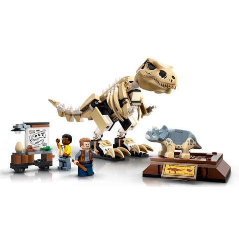 Конструктор LEGO Jurassic World Виставковий скелет тиранозавра 76940 Прев'ю 5