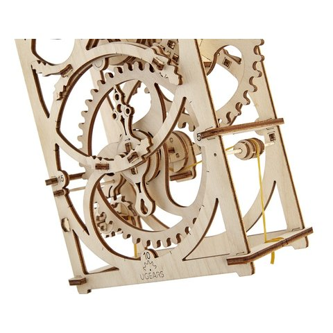 Mechanical 3D Puzzle UGEARS Timer Preview 5